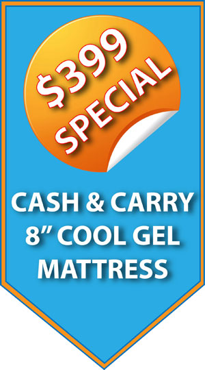 Cool Gel Mattress $399