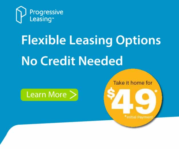 Progressive Financing Available